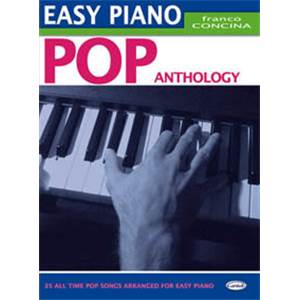 CONCINA FRANCO - EASY PIANO POP ANTHOLOGY