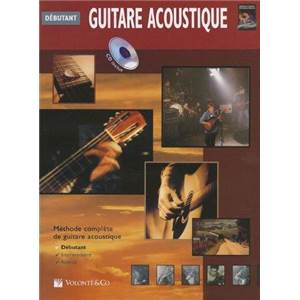 HORNE GREG - GUITARE ACOUSTIQUE DEBUTANT METHODE COMPLETE + CD