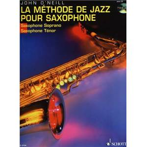 O'NEILL J. - METHODE DE SAXOPHONE JAZZ TENOR (FRANCAIS) VOL.1 + CD