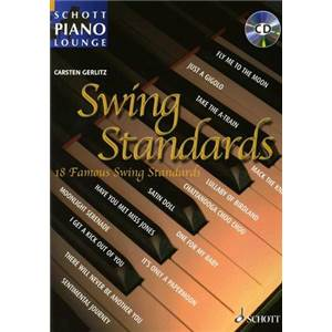 GERLITZ CARSTEN - PIANO LOUNGE COLLECTION SWING STANDARDS + CD