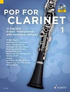 POP FOR CLARINET VOLUME 1 +CD  - CLARINETTES (1-2)