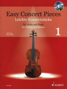 EASY CONCERT PIECES VOL.1 +CD - VIOLON ET PIANO