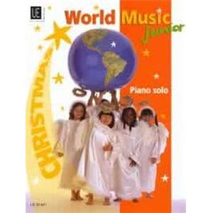 COMPILATION - WORLD MUSIC JUNIOR CHRISTMAS (NOEL) PIANO