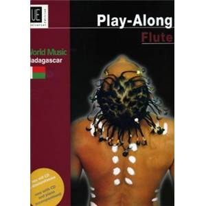 COMPILATION - WORLD MUSIC MADAGASCAR FLUTE/PIANO + CD