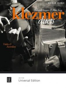 COMPILATION - KLEZMER DUETS (10 PIECES TRADITIONNELLES) - VIOLON ET ACCORDEON
