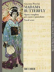 PUCCINI GIACOMO - MADAME BUTTERFLY - VOCAL SCORE