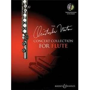 NORTON CHRISTOPHER - CONCERT COLLECTION FLUTE/PIANO + CD