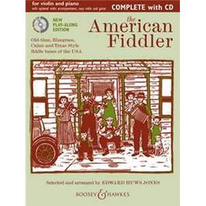 HUWS JONES EDWARD - AMERICAN FIDDLER + CD VIOLON/PIANO