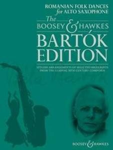 BARTOK BELA - ROMANIAN FOLK DANCES - SAXOPHONE MIB ET PIANO