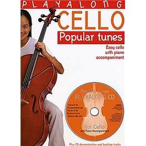 COMPILATION - PLAY ALONG POPULAR TUNES VIOLONCELLE + CD