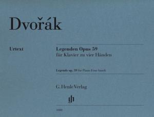 DVORAK ANTON - LEGENDES OP.59- PIANO A 4 MAINS