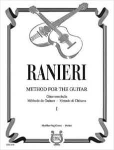RANIERI SILVIO - METHODE DE GUITARE VOLUME 1 - GUITARE