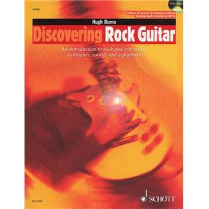 BURNS HUGH - DISCOVERING ROCK GUITAR + CD