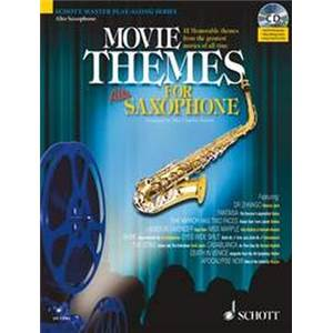 COMPILATION - MOVIE THEMES FOR ALTO SAXOPHONE (MIB) + CD