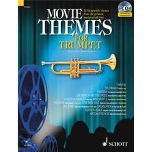 COMPILATION - MOVIE THEMES FOR TRUMPET + CD TROMPETTE