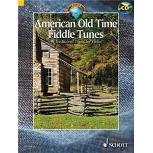 COMPILATION - AMERICAN OLD TIME FIDDLE TUNES (98 TRAD.) + CD VIOLON