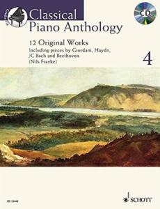 CLASSICAL PIANO ANTHOLOGY VOL.4 +CD - PIANO