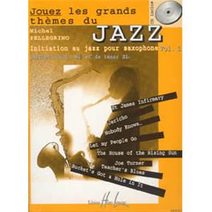 PELLEGRINO MICHEL - JOUEZ LES GRANDS THEMES DU JAZZ VOL.1+ CD