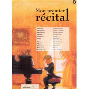 MON PREMIER RECITAL VOL.B - PIANO