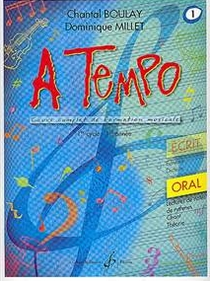 Boulay / Millet - A TEMPO - ORALE - VOL. 1
