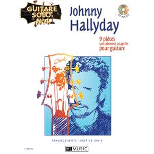 HALLYDAY JOHNNY - GUITARE SOLO N°4 + CD