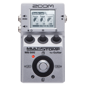 MULTI-EFFETS GUITARE ZOOM MULTI STOMP MS 50 G