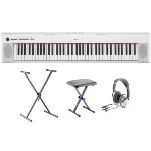 PIANO NUMERIQUE PORTABLE YAMAHA NP-32WH PACK
