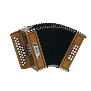ACCORDEON DIATONIQUE HOHNER GALAAD G/C