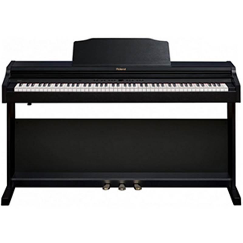 piano numerique meuble roland rp401r cb noir paul. Black Bedroom Furniture Sets. Home Design Ideas
