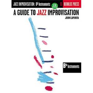 LAPORTA JOHN - BERKLEE GUIDE TO JAZZ IMPRO BB VERSION + CD