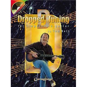 BALL TOM - DROPPPED D TUNING FOR FINGERSTYLE GUITAR TAB. + CD