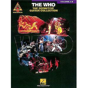 THE WHO - DEFINITIVE COLLECTION A E GUITAR TAB.