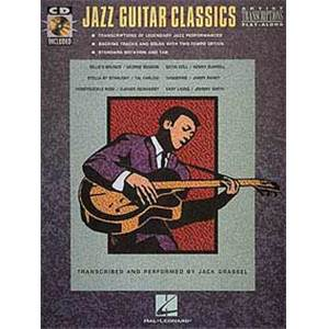 COMPILATION - JAZZ GUITAR CLASSICS ARTIST TRANSCRIPTIONS + CD