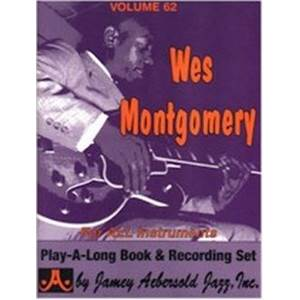 MONTGOMERY WES - AEBERSOLD 062 + CD