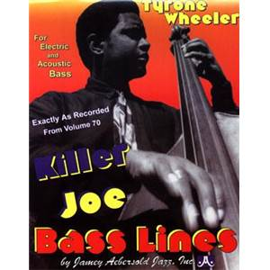 WHEELER TYRONE - KILLER JOE BASS LINES VOL.70