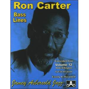 ELLINGTON DUKE - BASS LINES AEBERSOLD 12 BY RON CARTER