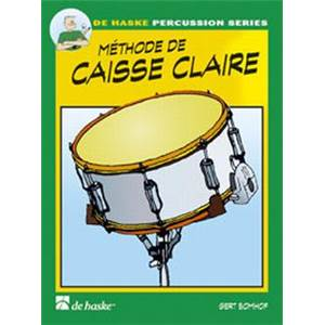 BOMHOF GERT - METHODE DE CAISSE CLAIRE PERCUSSION SERIES