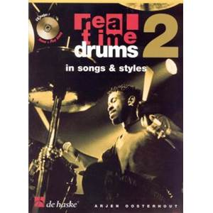 OOSTERHOUT ARJEN - REAL TIME DRUMS VOL.2 IN SONGS & STYLES + CD