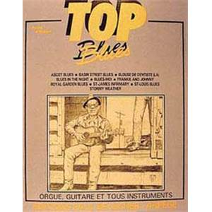 COMPILATION - TOP BLUES LIGNE MELODIQUE ET ACCORDS
