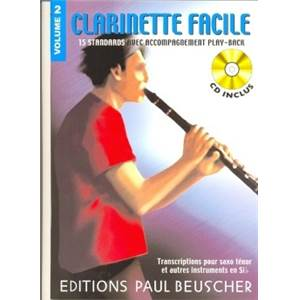 CLARINETTE FACILE SIB VOL.2 + CD - CLARINETTE
