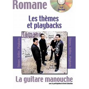 ROMANE - GUITARE MANOUCHE THEMES ET PLAYBACKS + CD