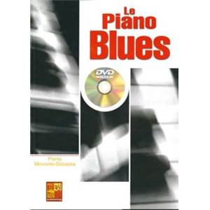 MINVIELLE SEBASTIA PIERRE - METHODE DE PIANO BLUES + DVD