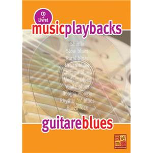 FDBAND - MUSIC PLAYBACKS GUITARE BLUES + CD