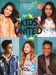 KIDS UNITED - VOLUME 3 PIANO, VOIX ET GUITARE, ET PIANO FACILE