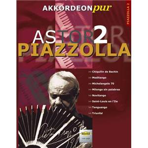 PIAZZOLLA ASTOR - POUR ACCORDEON VOL.2