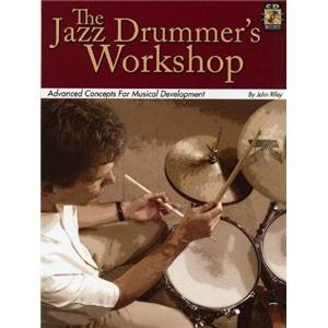 RILEY JOHN - JAZZ DRUMMER'S WORKSHOP + CD