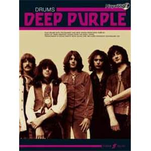 DEEP PURPLE - AUTHENTIC PLAY ALONG DRUMS + CD