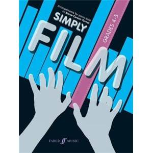 COMPILATION - SIMPLY FILM GRADES 4 5 PIANO SOLOS
