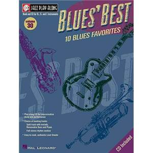 COMPILATION - JAZZ PLAY ALONG VOL.030 BLUES' BEST + CD