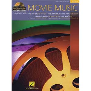 COMPILATION - PIANO PLAY ALONG VOL.001 MOVIE MUSIC + CD